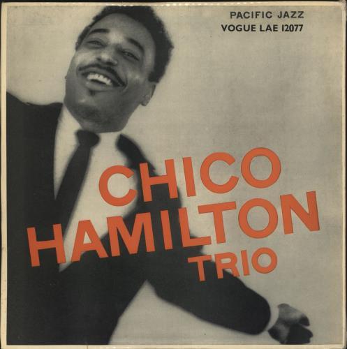 Chico Hamilton Chico Hamilton Trio vinyl LP album (LP record) UK CH7LPCH744744