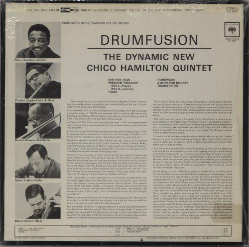 Chico Hamilton Drumfusion vinyl LP album (LP record) US CH7LPDR751929