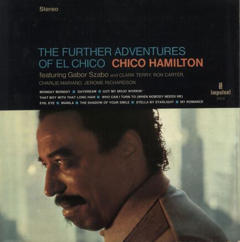 Chico Hamilton Further Adventures Of El Chico - 1st vinyl LP album (LP record) US CH7LPFU748540