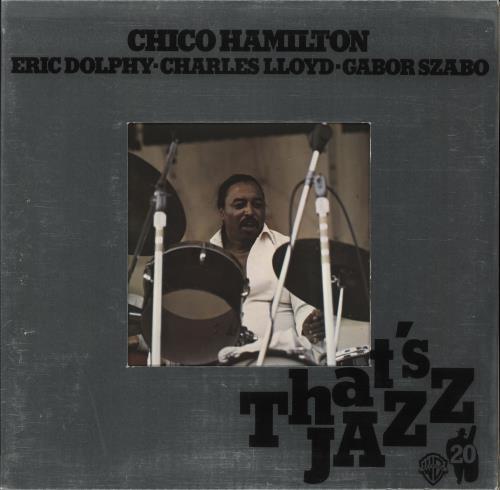 Chico Hamilton That's Jazz 20 vinyl LP album (LP record) German CH7LPTH461948