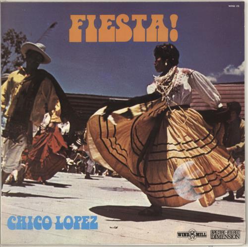 Chico Lopez Fiesta! vinyl LP album (LP record) UK Z0ILPFI722038