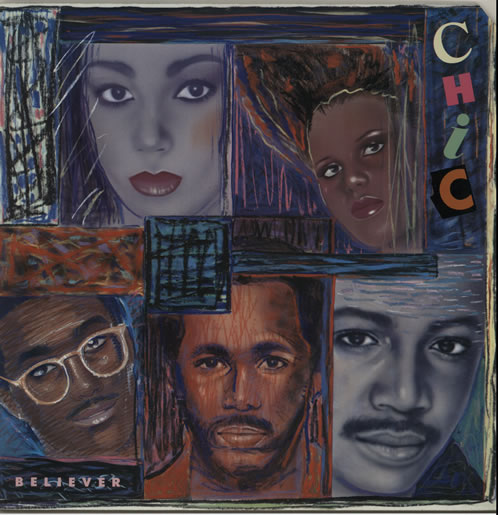 Chic Believer vinyl LP album (LP record) German CHCLPBE240021