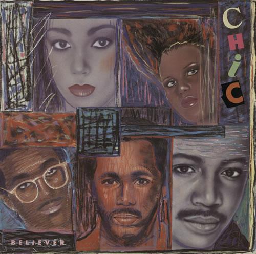 Chic Believer vinyl LP album (LP record) Italian CHCLPBE573593