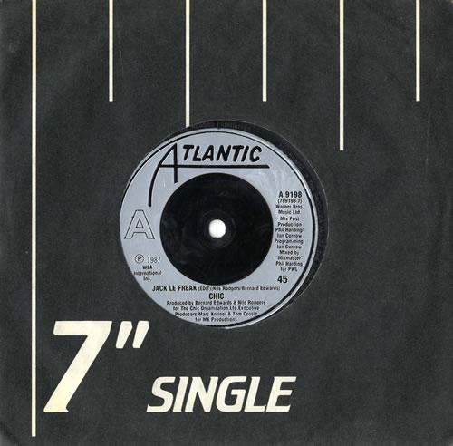 "Chic Jack Le Freak - Injection 7"" vinyl single (7 inch record) UK CHC07JA560446"