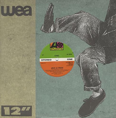 "Chic Jack Le Freak 12"" vinyl single (12 inch record / Maxi-single) UK CHC12JA192061"