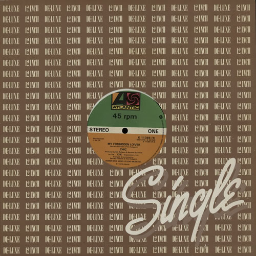 "Chic My Forbidden Lover 12"" vinyl single (12 inch record / Maxi-single) UK CHC12MY592059"