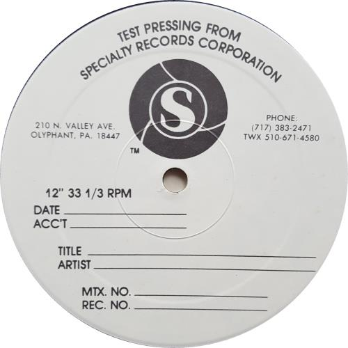 Chic Real People - Test Pressing vinyl LP album (LP record) US CHCLPRE648797