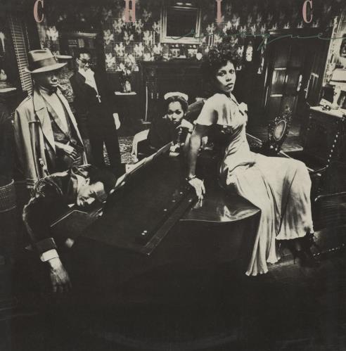 Chic Risque vinyl LP album (LP record) Portugese CHCLPRI756116