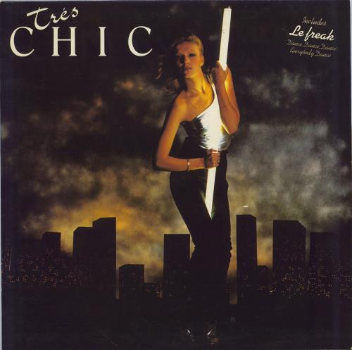 Chic Tres Chic vinyl LP album (LP record) UK CHCLPTR290002