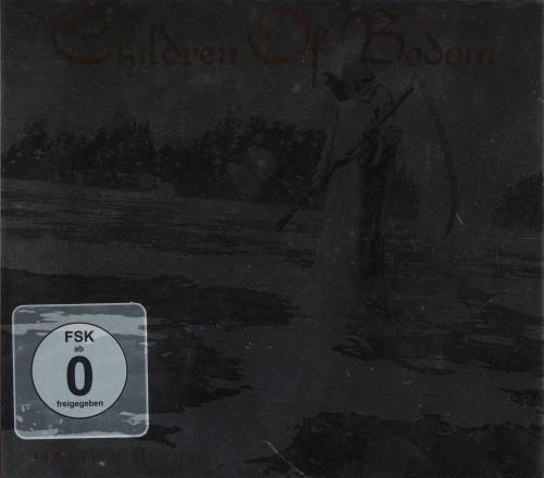 Children Of Bodom Halo Of Blood 2-disc CD/DVD set German B0D2DHA753170