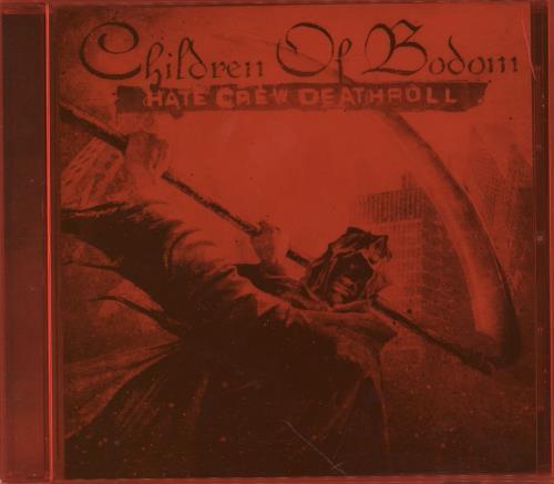 Children Of Bodom Hate Crew Deathroll CD album (CDLP) UK B0DCDHA753179