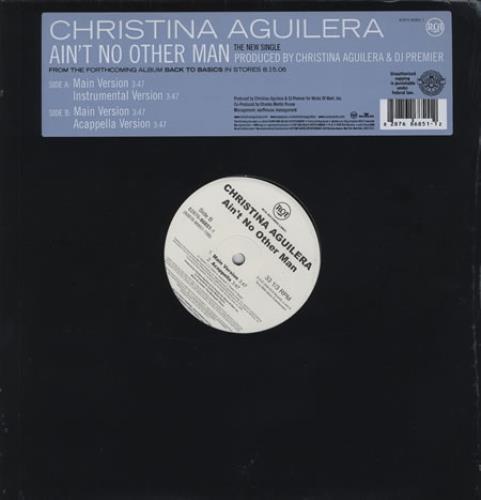christina aguilera aint no other man single