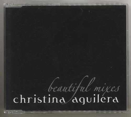 """Christina Aguilera Beautiful Mixes CD single (CD5 / 5"""") UK AAGC5BE577785"""