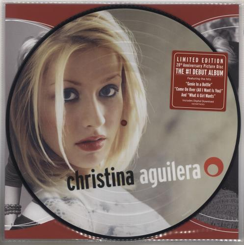 Christina Aguilera Christina Aguilera picture disc LP (vinyl picture disc album) UK AAGPDCH736181