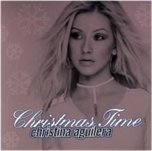 "Christina Aguilera Christmas Time CD single (CD5 / 5"") US AAGC5CH172417"