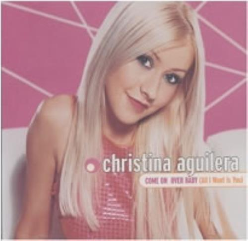 """Christina Aguilera Come On Baby [All I Want Is You] CD single (CD5 / 5"""") US AAGC5CO169217"""