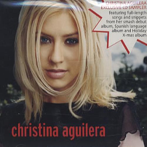 "Christina Aguilera Fetish - Sampler CD single (CD5 / 5"") US AAGC5FE319387"