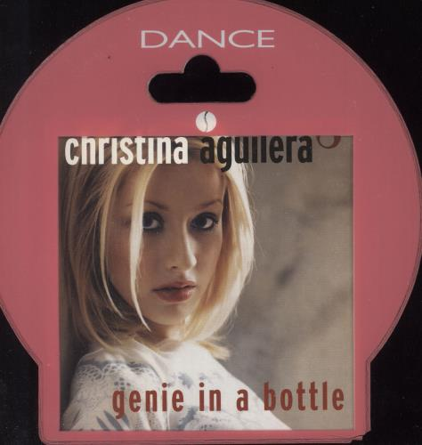 """Christina Aguilera Genie In A Bottle + Store Hanger CD single (CD5 / 5"""") French AAGC5GE148451"""