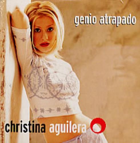"Christina Aguilera Genio Atrapado CD single (CD5 / 5"") Argentinean AAGC5GE233716"