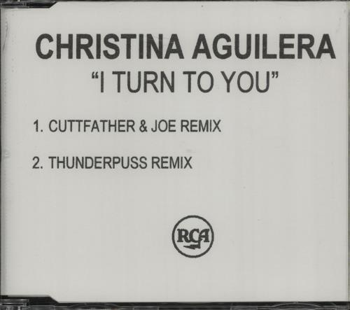 Christina Aguilera I Turn To You CD-R acetate UK AAGCRIT159722