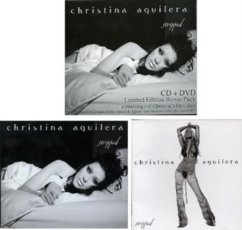 Christina Aguilera Stripped + Bonus DVD 2-disc CD/DVD set New Zealand AAG2DST287049
