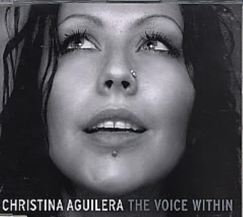 "Christina Aguilera The Voice Within CD single (CD5 / 5"") European AAGC5TH265000"