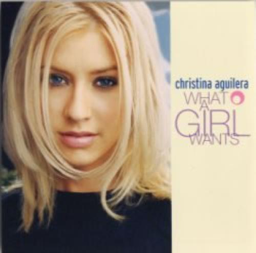 """Christina Aguilera What A Girl Wants CD single (CD5 / 5"""") US AAGC5WH148347"""