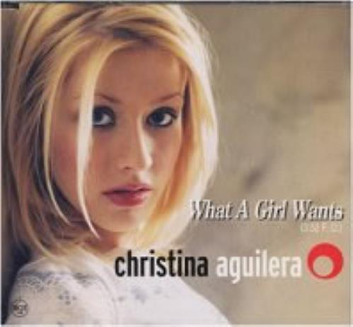 """Christina Aguilera What A Girl Wants CD single (CD5 / 5"""") Japanese AAGC5WH148847"""