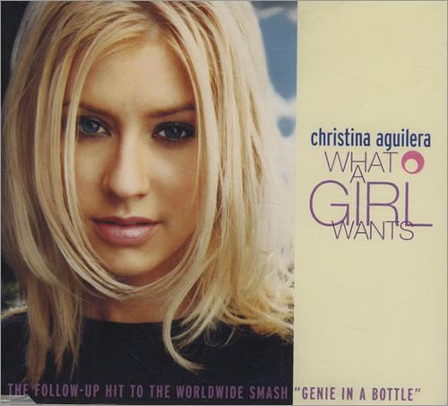 Christina Aguilera What A Girl Wants Australian CD Single