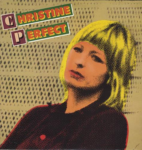 Christine Perfect Christine Perfect vinyl LP album (LP record) UK PFTLPCH394230