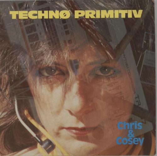 Chris & Cosey Techno Primitiv vinyl LP album (LP record) UK CCSLPTE304412