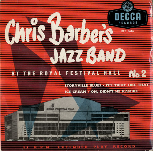 "Chris Barber At The Royal Festival Hall No.2 7"" vinyl single (7 inch record) UK CHB07AT548943"