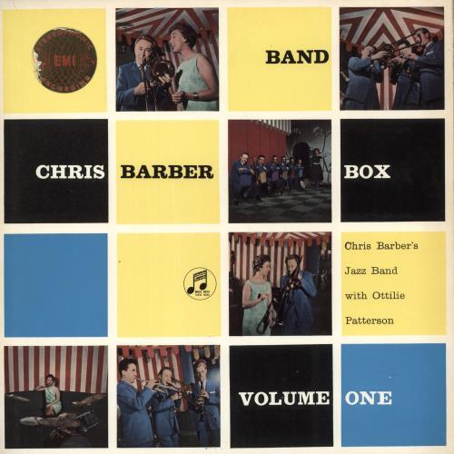 Chris Barber Chris Barber Band Box Volume One vinyl LP album (LP record) UK CHBLPCH723682