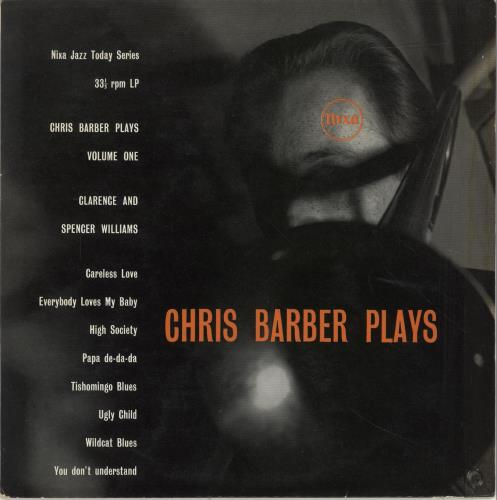 "Chris Barber Chris Barber Plays 10"" vinyl single (10"" record) UK CHB10CH559861"