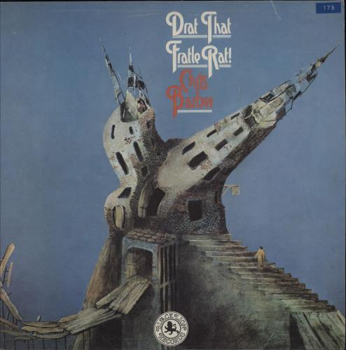 Chris Barber Drat That Fratle Rat! vinyl LP album (LP record) UK CHBLPDR739148