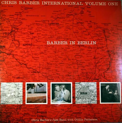 Chris Barber International Volume One: Barber In Berlin vinyl LP album (LP record) UK CHBLPIN560141