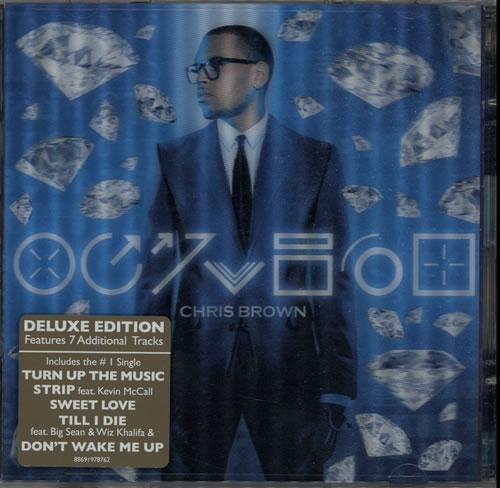 Chris Brown Fortune - Holographic Sleeve UK 2 CD album set