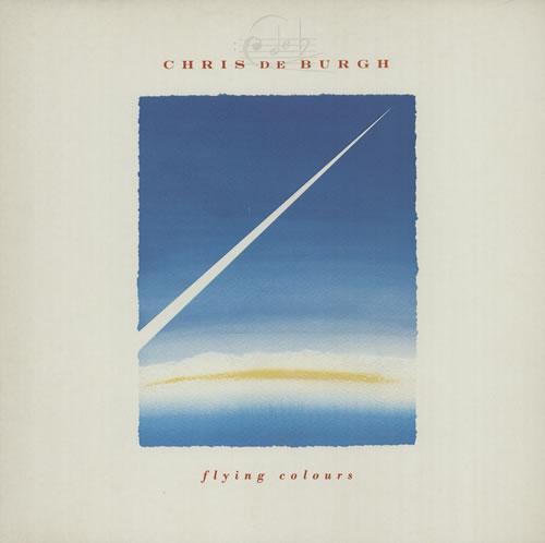 Chris De Burgh Flying Colours vinyl LP album (LP record) UK BURLPFL453819