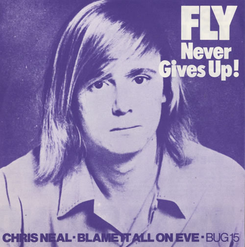 """Chris Neal Blame It All On Eve - P/S 7"""" vinyl single (7 inch record) UK C3R07BL521069"""