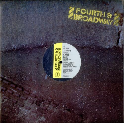 "Chris Paul Expansions '86 - Expand Your Mind Remix 12"" vinyl single (12 inch record / Maxi-single) UK C2412EX517061"