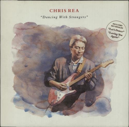 Chris Rea Dancing With Strangers Uk Vinyl Lp Album Lp