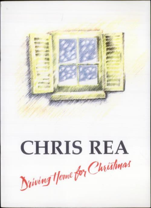 Chris Rea Driving Home For Christmas tour programme UK REATRDR325728