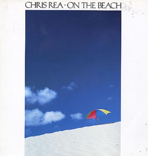 Chris Rea On The Beach vinyl LP album (LP record) UK REALPON290326
