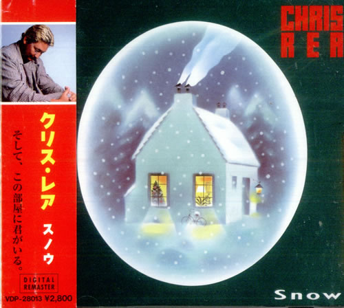 Chris Rea Snow CD album (CDLP) Japanese REACDSN11976