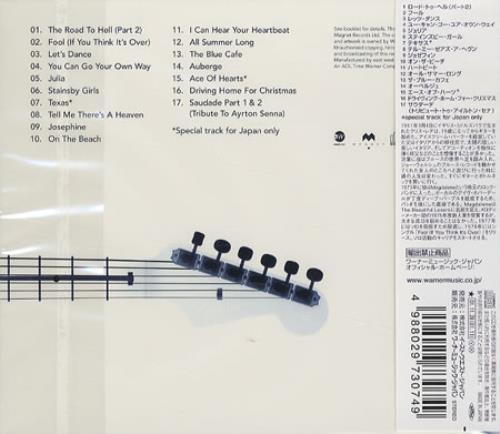 Chris Rea The Very Best Of Japanese Cd Album Cdlp 199326