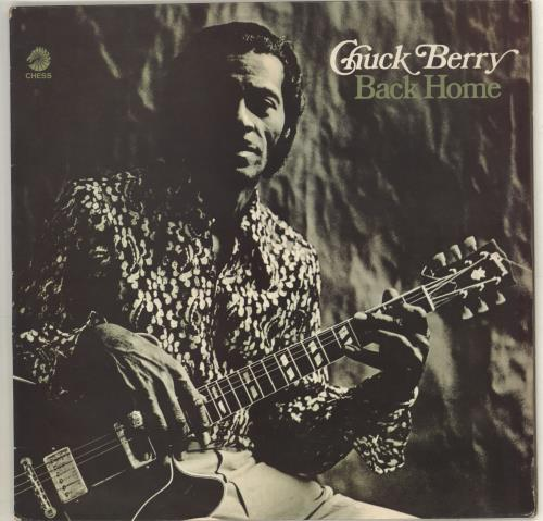 Chuck Berry Back Home vinyl LP album (LP record) UK CHKLPBA718146