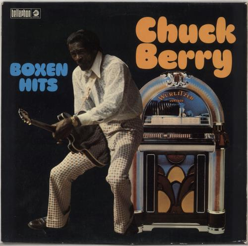 Chuck Berry Boxen Hits vinyl LP album (LP record) German CHKLPBO727795