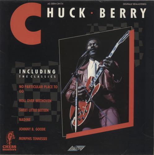 Chuck Berry Chess Masters vinyl LP album (LP record) UK CHKLPCH598526