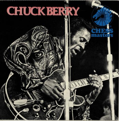 Chuck Berry Chuck Berry - Chess Masters Series vinyl LP album (LP record) UK CHKLPCH693653
