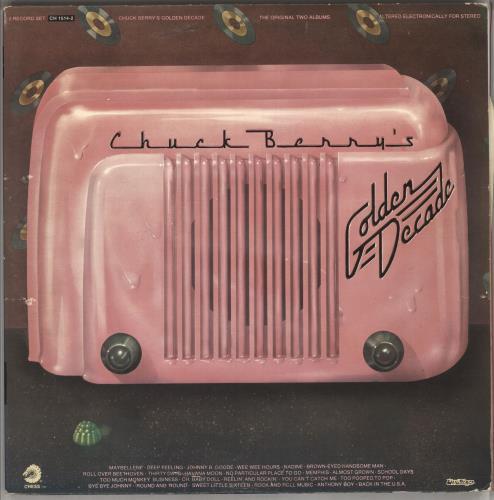 Chuck Berry Chuck Berry's Golden Decade 2-LP vinyl record set (Double Album) UK CHK2LCH729555